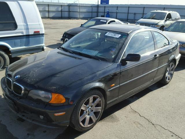 2001 BMW 325ci,Coupe, 2.5L,a/t, Black