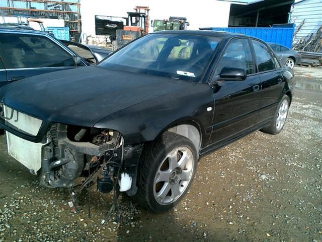 2000 Audi S4, Sdn, Black, missing eng & trans
