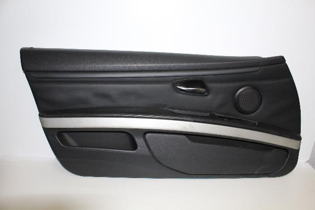 2008 Bmw M3 Coupe E92 2-Door 4.0L V8 Gas Driver Left Door Panel ...