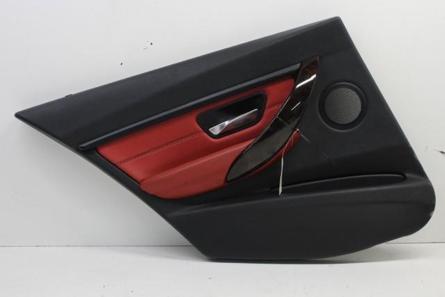 2015 Bmw 328i Sedan F30 Sport 4-Door 2.0 Turbo Driver Left Rear Door Panel