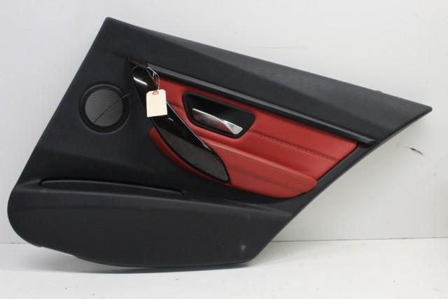 2015 Bmw 328i Sedan F30 Sport 4-Door 2.0 Turbo Passenger Right Rear Door Panel