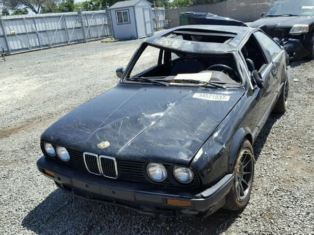 1991 bmw 325i e30 2 5l 2dr black rolled specialized german recycling. Black Bedroom Furniture Sets. Home Design Ideas