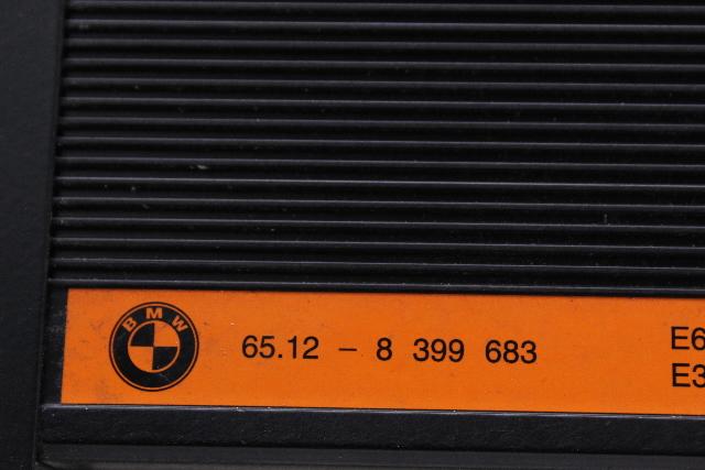 Radio Harmon Kardon Amplifier 2000 Bmw Z3 Convertible E36