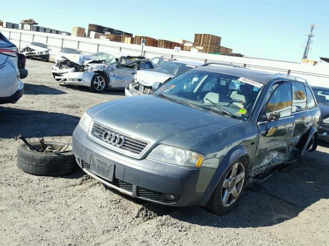 2005 Audi Allroad, 2.7L a/t Awd, Green, hit lh side
