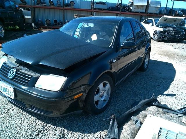 2002 VW Jetta GLS 2.0L a/t, Sdn, Black, hit rh side