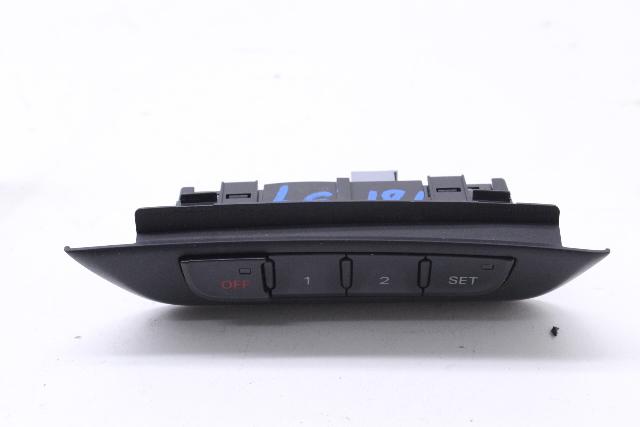 Driver Left Seat Memory Switch 2009 Audi A4 Quattro Wagon