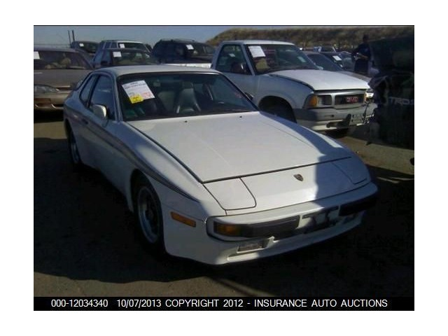 78 79 80 81 82 83 84 85 86 87 88 Porsche 924 944 License Plate Bracket