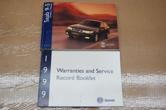 99 Saab 9-5 Owners Manual