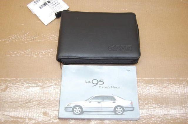 01 Saab 9-5 Owners Manual