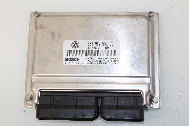 2005 Volkswagen Passat 2.8L 2.8 Engine Computer Module ECM ECU 3B0907551DC