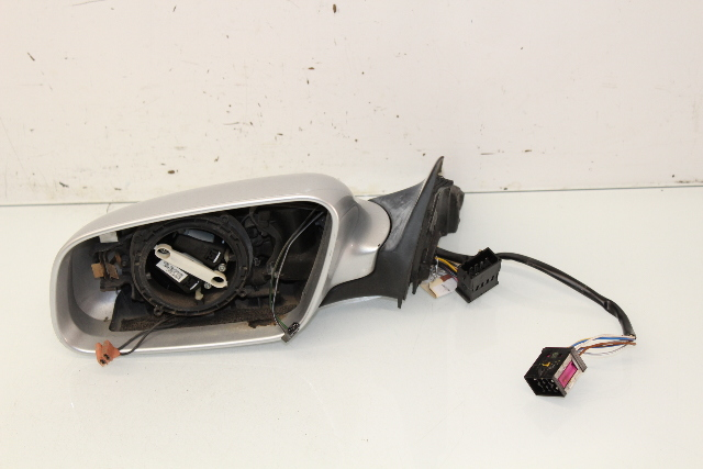 2001 2002 2003 2004 Audi A6 Driver Left Door Mirror 4B1858531BE - No Glass