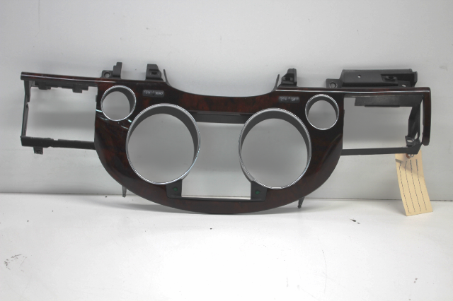 2004 Audi A8 Speedometer Cluster Surround Bezel Trim Wood 4E2857115
