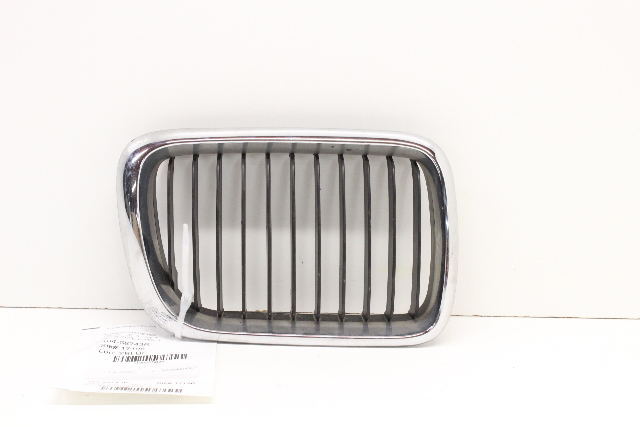 BMW 318i 323i 328i Right Passenger Hood Kidney Grille Chrome 51138195151