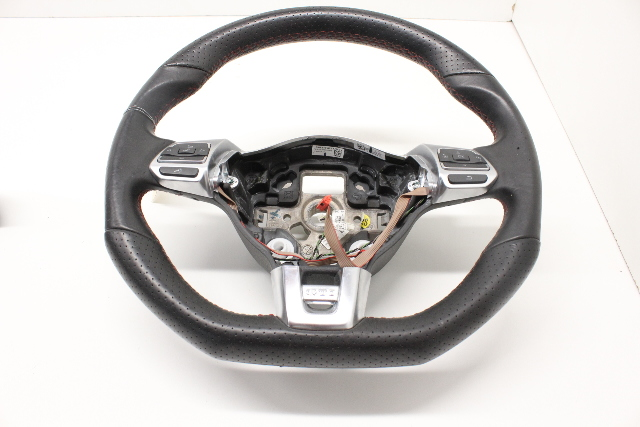 2010 2011 2012 2013 2014 Volkswagen Golf GTI Flat Bottom 3 Spoke Steering Wheel