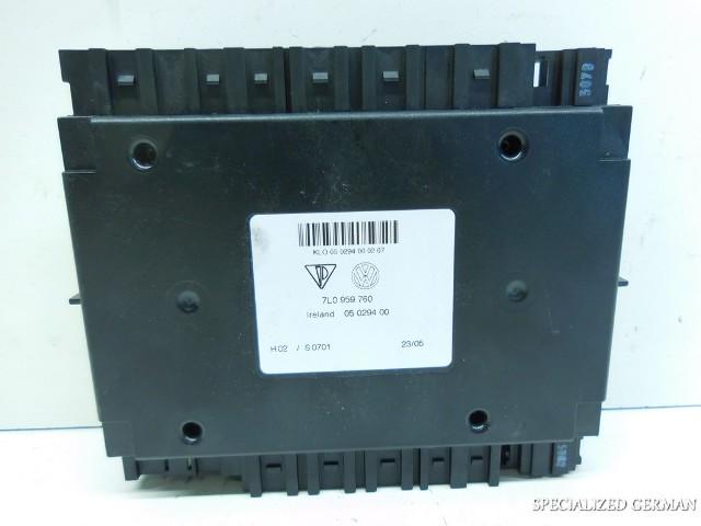 2004 2005 2006 Volkswagen Touareg Porsche Cayenne Seat Memory Control Module