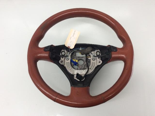 2003 2004 Audi TT Red Leather 3 Spoke Steering Wheel 8N0419091C Worn
