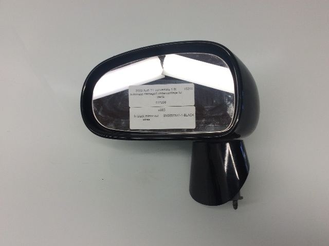2000 2001 2002 2003 2004 2005 2006 Audi TT Left Door Mirror 8N0857527 Cut Wires