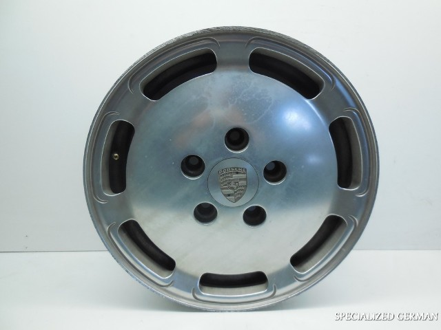 Porsche 944 7 Slot Aluminum Wheel 94436211500 Curb Scuffs 16X7