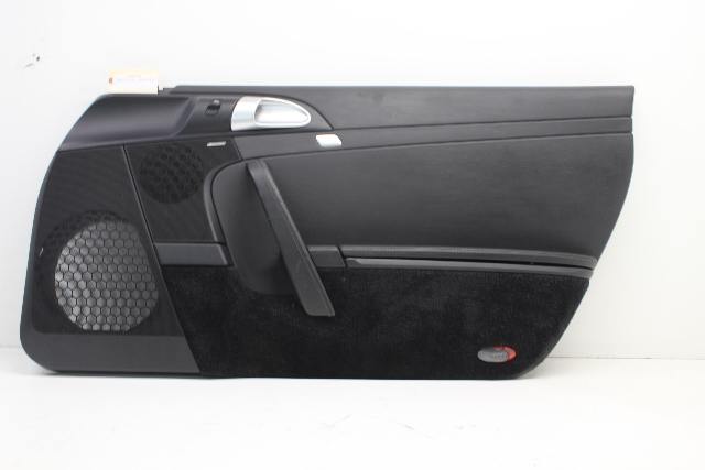 Porsche Boxster Cayman 987 Front Right Passenger Door Panel Black