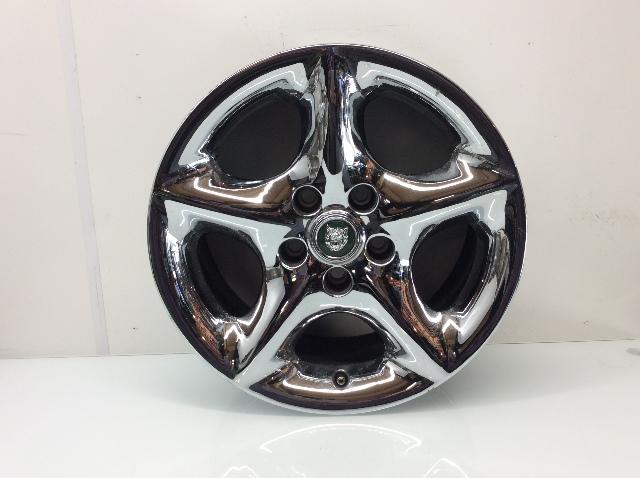 2001 2002 2003 2004 Jaguar XK8 17 x 8 Inch 5 Spoke Chrome Wheel MJD6116B
