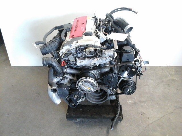 1999 2000 Mercedes Benz C230 engine C230 Motor with supercharger 1110107444