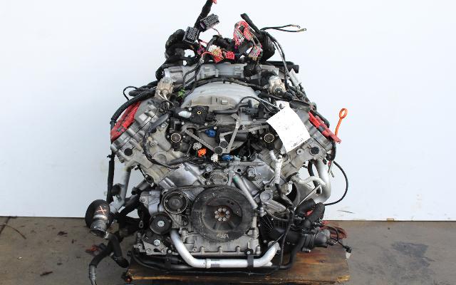 2008 2009 Audi S6 S8 5.2 Engine 5.2L 8 Cylinder Motor 07L100031A BXA