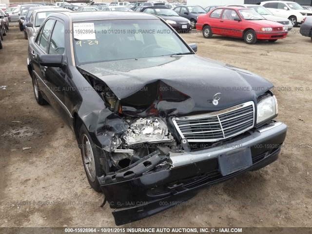 1999 mercedes c230 damaged front 2 3 automatic black for Mercedes benz c230 1999
