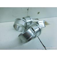 00 01 02 03 04 05 06 Audi TT dash switch trim ring set aluminum rings