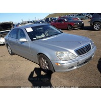 2001 Mercedes S500 WDBNG75J01A167464 for parts