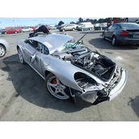 2006 Porsche Boxster S silver 3.2 for parts