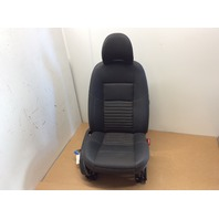 08 09 10 11 Volvo S40 right front seat black cloth
