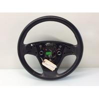 08 09 10 11 Volvo S40 V50 steering wheel 3 spoke light scuffs multifunction