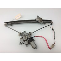 02 03 Mitsubishi Lancer right rear regulator with motor MR991338