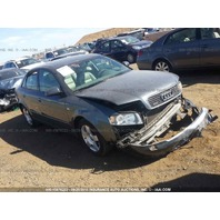 2003 Audi A4 damaged front end grey 1.8t quattro for parts
