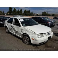2002 Volkswagen Jetta damaged right side 1.9 TDI automatic for parts