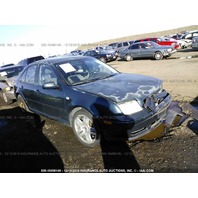 2001 Volkswagen Jetta VR6 automatic damaged left front for parts