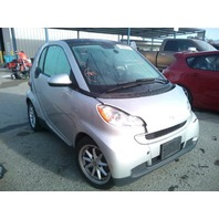 2009 Smart Fortwo silver hit left side 1.0 automatic for parts