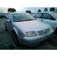 2003 Volkswagen Jetta 1.8t silver automatic flood car for parts