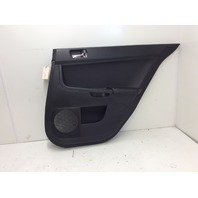 2011 Mitsubishi Lancer Evolution MR right rear panel black 7222A438XA