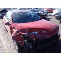 2007 Volkswagen Eos red 2.0t automatic damaged right front for parts