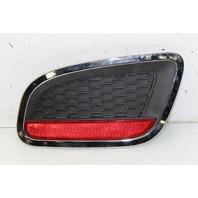 2012 2013 2014 2015 2016 Fiat 500 Sport Right Rear Bumper Grille W/ Reflector