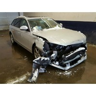 2009 Audi A4 2.0 automatic Avant wagon silver damaged front for parts