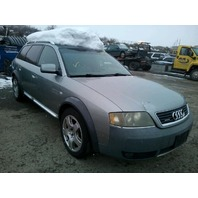 2001 Audi A6 Allroad 2.7 automatic grey damaged front for parts