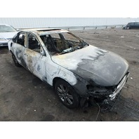 2011 Audi A4 2.0t sedan automatic interior burn for parts