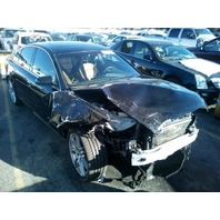 2008 Audi A6 black 3.2 automatic damaged front for parts