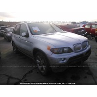 2004 Bmw X5 silver 4.4 automatic flood damage for parts