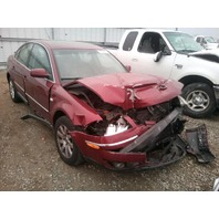 2003 Volkswagen Passat 1.8t sedan automatic red damaged in front for parts