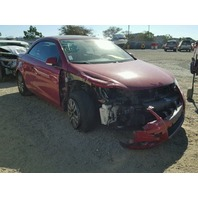 2008 Volkswagen Eos 2.0t automatic damaged right front red for parts