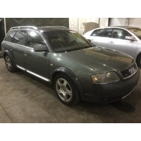 2001 Audi Allroad Quattro damaged rear grey 2.7 automatic for parts