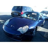 2002 Porsche 911 coupe 3.6 automatic blue damaged front for parts